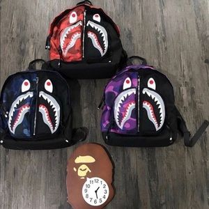 BAPE BOOKBAGS 😈🔌🔥